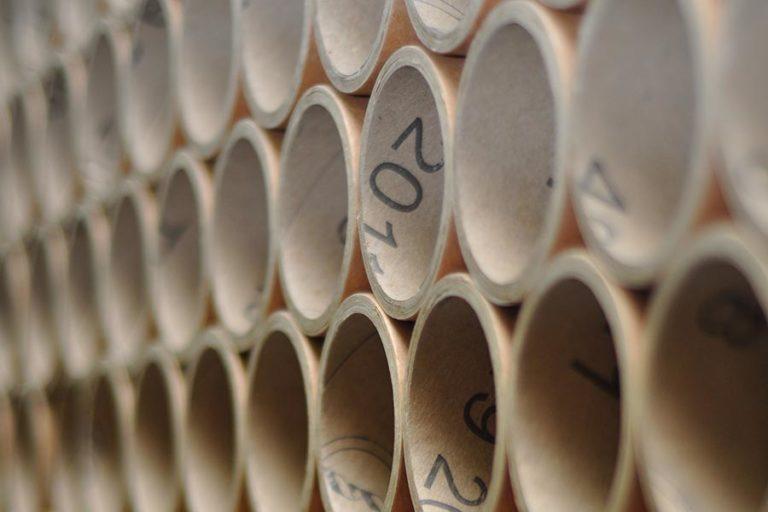 kartonaste cevi za proizvodnjo folij